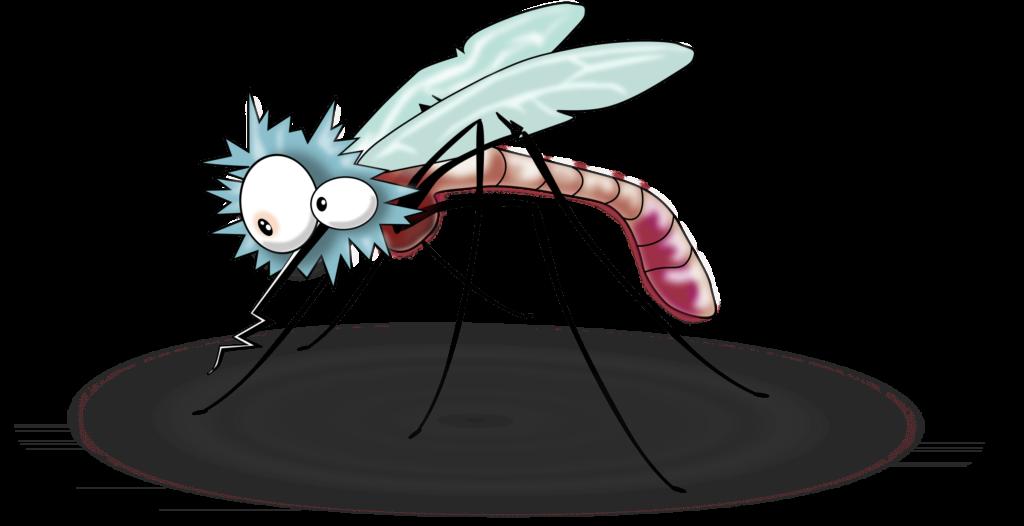 Смешные рисунки комара